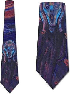 The Scream Ties Edvard Munch NeckTies by Three Rooker