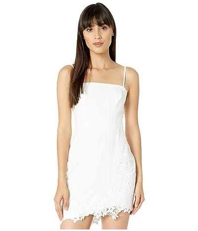 BCBGMAXAZRIA Bustier Cocktail Dress (Off-White) Women