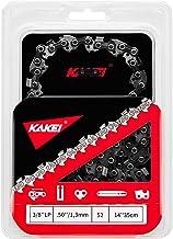"""KAKEI Łańcuchy do pił 3/8"""", 1,3 mm grubość ogniwa napędowego (.050""""), 52 TG, 35 cm (14"""") - kompatybilne z Bosch, Dollmar, ..."""
