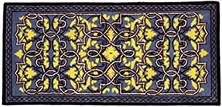 Minuteman International Tabriz Classic Wool Hearth Rug, R&B