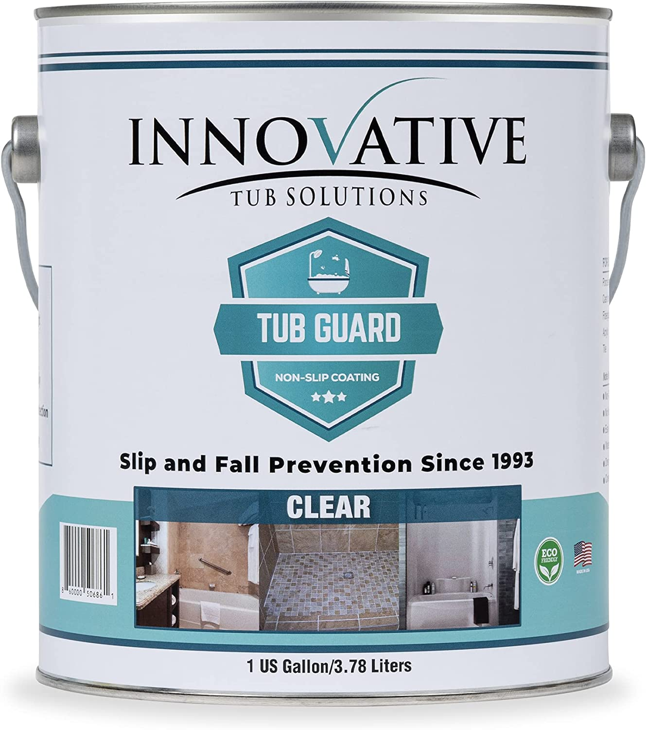 Tub Guard Non Slip Clear Bathtub New Shipping Free Shower Coating Brand new for Bat Grip and