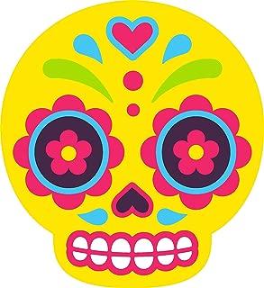 Magnet Pretty Bright Color Baby Sugar Skull Cartoon Art Vinyl Magnet (2