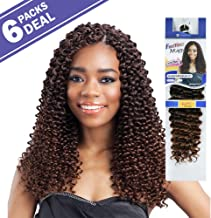 FreeTress Synthetic Hair Crochet Braids Water Wave Bulk 12