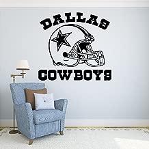 Dallas Cowboys Vinyl Decal Sticker Wall Football Logo NFL Sport Home Interior Removable Decor (22