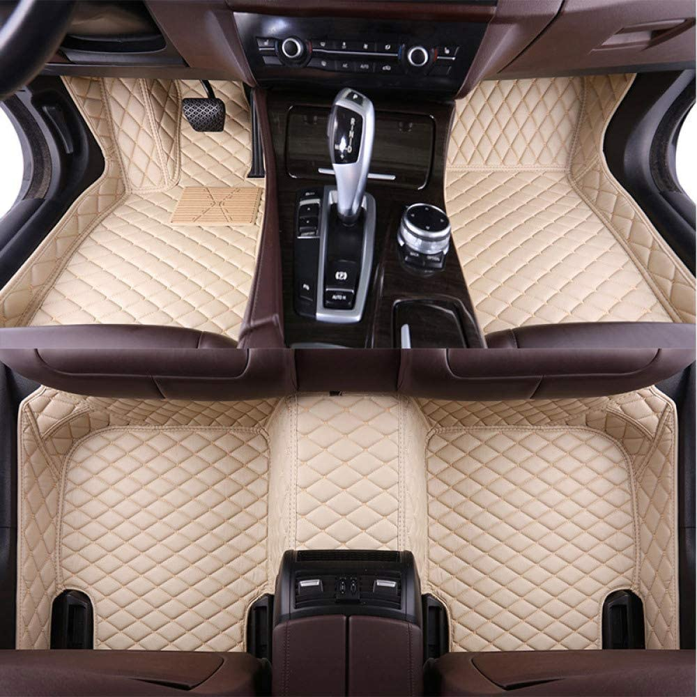 LINGJIE Car Fashionable Floor Mat Custom Leather Upgraded Rear and quality assurance Front