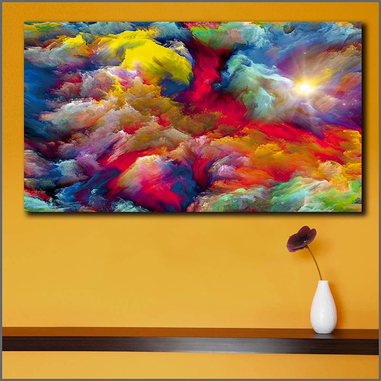 muy popular QIAISHI Pintura de Moda, Arte Arte Arte Abstracto, Arte de la Parojo de Lienzo, Hogar Feliz sobre Lienzo, Arte Original, Arte del Paisaje, Pintura Abstracta Impresa  Tu satisfacción es nuestro objetivo