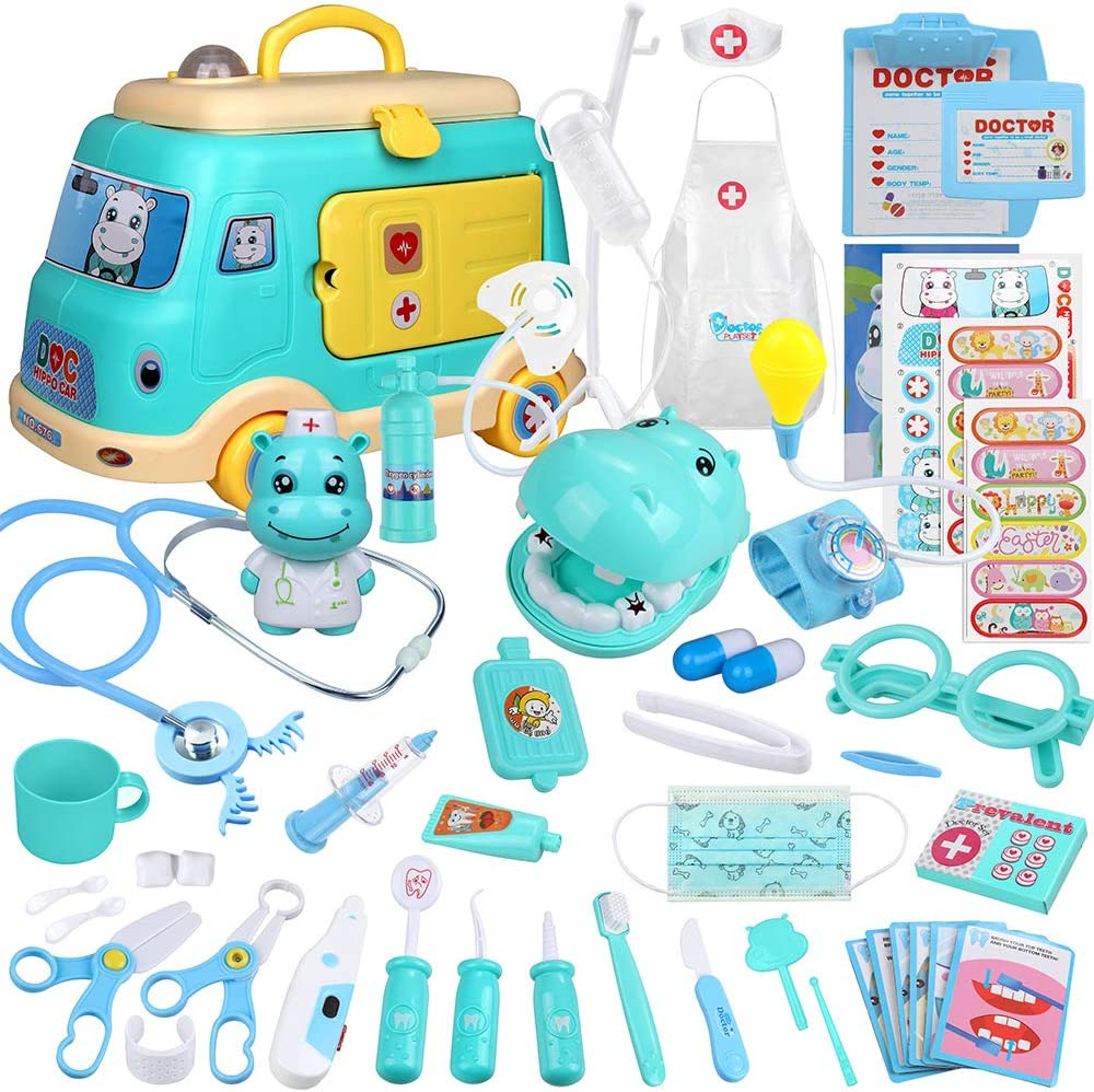 Anpro ! Super beauty product restock quality top! Car Model Doctor Max 71% OFF Toy Playing Role Set Girl for