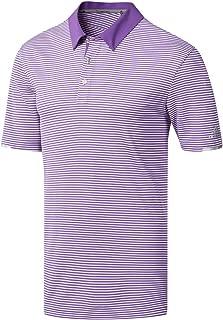 Adidas Golf Mens 2019 Climachill Tonal Stripe Polo Shirt