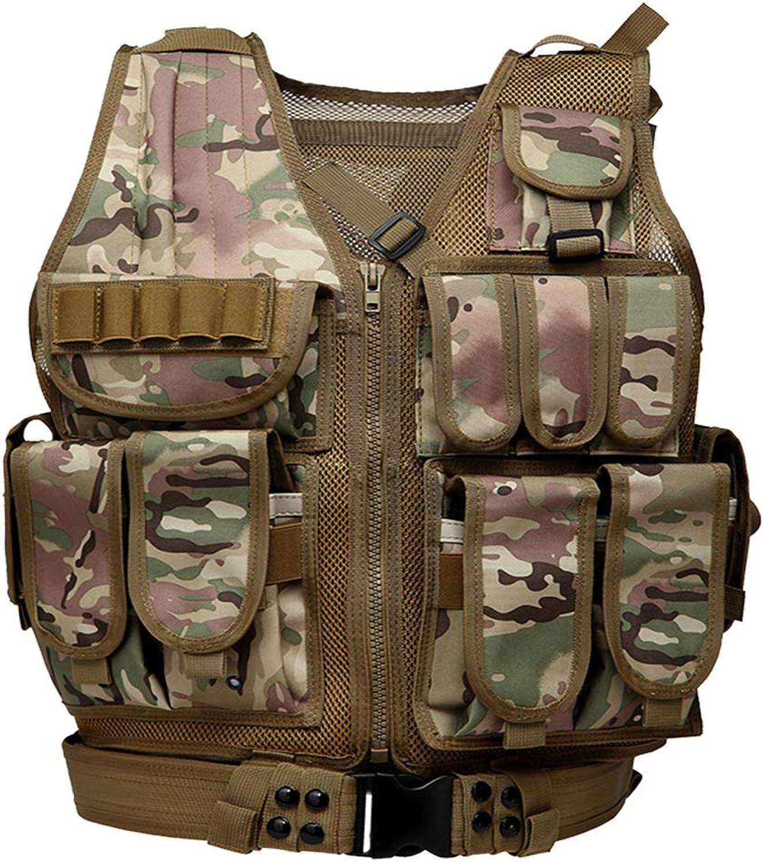 ZWL Classic Black Hawk Tactical Vest Outdoor Field Vest Vest Tactical Vest