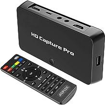 MYPIN Video en Tiempo Real 1080P HD Video Capture con Game Capture para Nintendo SwitchPS4 y PS3, Xbox One, Reproducir Videos/programar la grabación con el Control Remoto