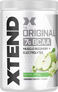 XTEND Original BCAA Powder Smash Apple | Sugar Free Post Workout Muscle Recovery Drink with Amino Acids | 7g BCAAs for Men...