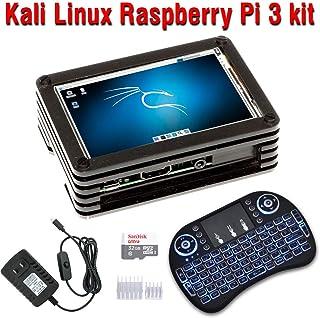 "CrispConcept Kali Linux 2 Raspberry Pi 3 Model B+ kit Assembled with 3.5"" Touch Screen"