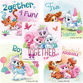 SmileMakers Palace Pets Friendship Stickers - Prizes 100 Per Pack