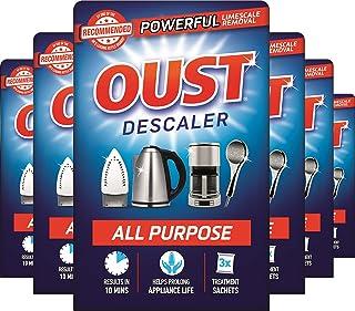 Oust krachtige ontkalker voor alle doeleinden, kalkverwijderaar, ideaal voor waterkokers, koffiemachines, strijkijzers en ...