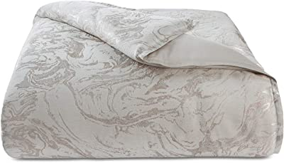 Hotel Collection Marble Full/Queen Duvet Cover Light Beige