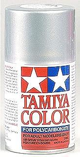 RC Cars Accessories Tamiya PS-41 Polycarbonate Spray Bright Silver Paint - 3oz, TAM86041