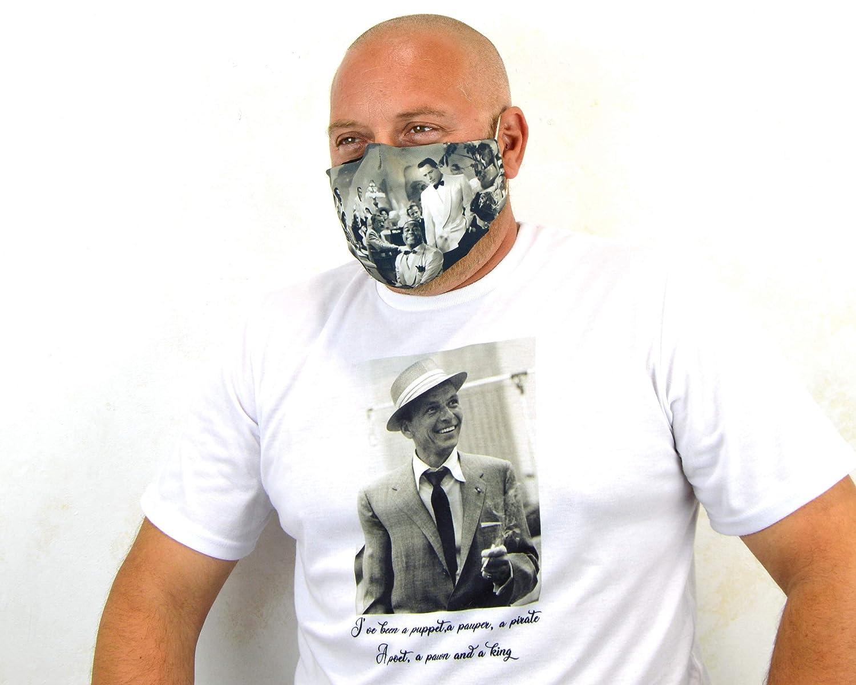Tapaboca lavable, tapabocas reutilizables personalizadas con tu logo, máscaras de tela lavable con bolsillo para filtro, personaliza mascara con tu ...