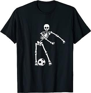 Skeleton Soccer Halloween Tshirt Flossing Dance Costume Kids