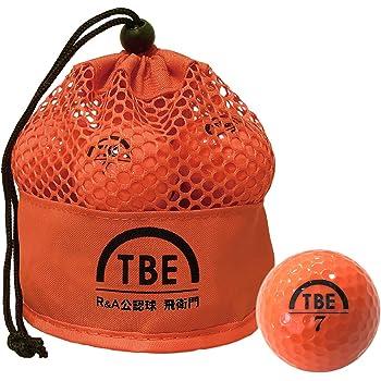 【Amazon.co.jp 限定】トビエモン(TOBIEMON) ゴルフボール R&A公認球 2ピース 12球入 オリジナルメッシュバック入り