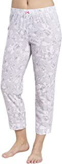 Rosch 1884152-11913 Women's Smart Casual Everyday Grey Floral Cotton Pyjama Pant