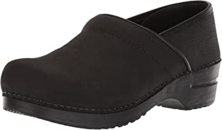 sanita professional oiled leather clogs