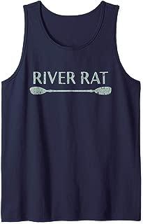 River Rat Shirt, Kayaking and Canoeing Shirt, Outdoors Tank Top