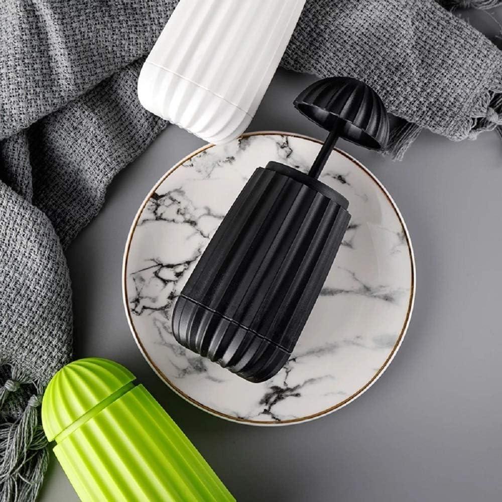 Retractable Toothpick Holder,Automatic Pop-up Toothpick Dispenser Black Toothpicks Case Storage Organizer For Kitchen