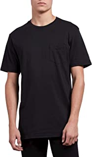 Volcom Men's Solid Modern Fit Pocket Short Sleeve Tee