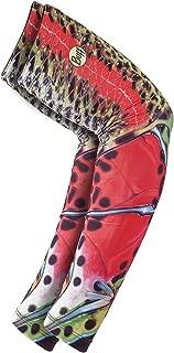 BUFF UV Arm Sleeves, Deyoung Rainbow Royal, Medium/Large