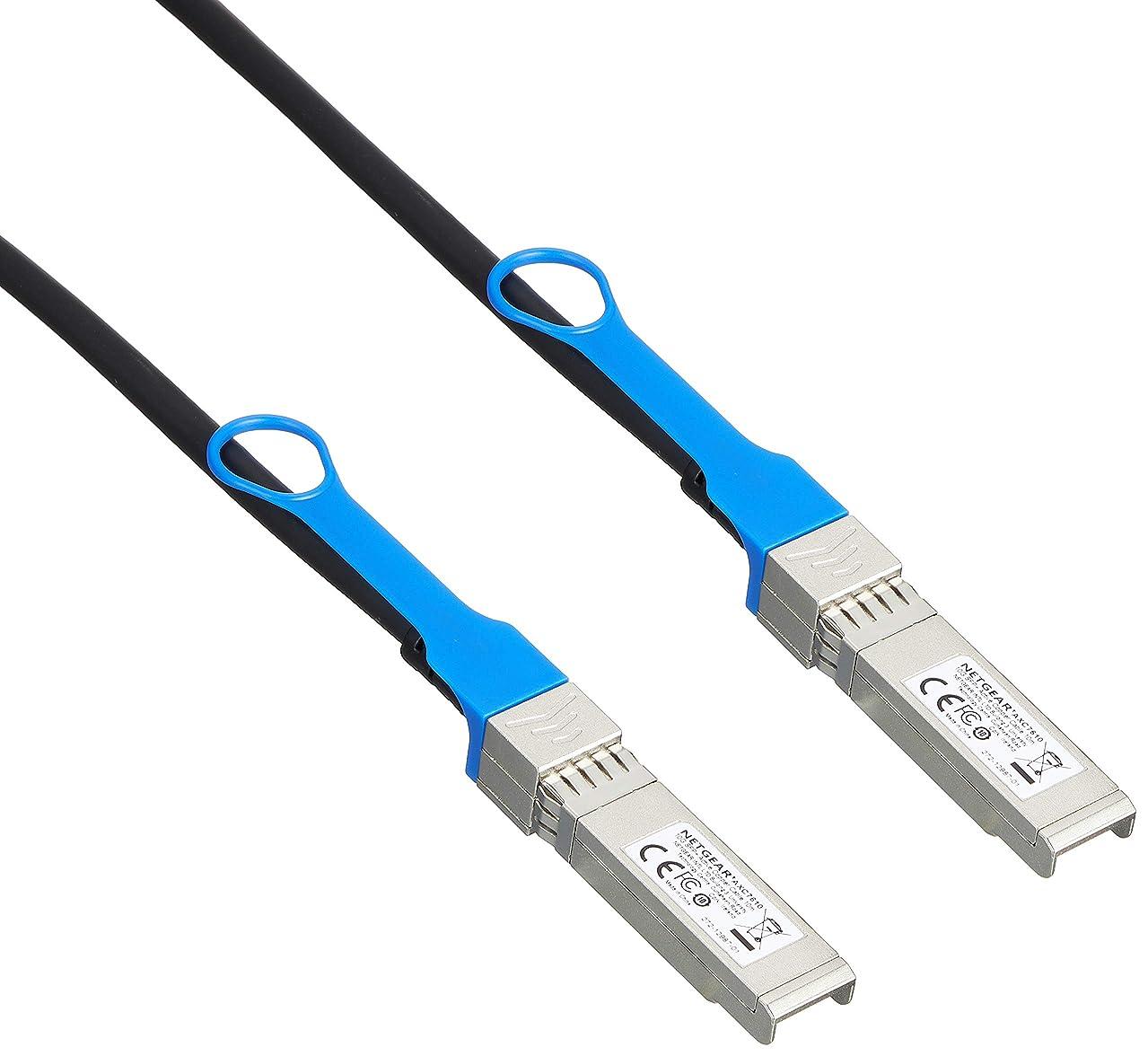 予測する行政バレエNETGEAR SFP+ ダイレクトアタッチケーブル 10m 5年保証 AXC7610-10000S
