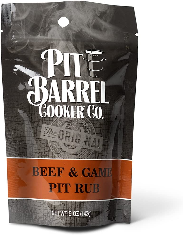 Pit Barrel Cooker PR005BG Beef Cheap sale and Game Rub Lowest price challenge oz 5