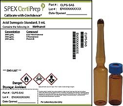SPEX CertiPrep CLPS-SA5 Acid Surrogate Standard, Methanol Matrix, EPA 625, EPA 8270C, EPA 8310 Method Reference, 5 mL