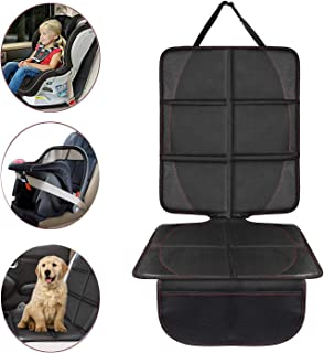 Acomon Car Seat Protector, Durable, Waterproof Fabric, PVC Leather Reinforced Corners, Easy to Clean Travel Accessories Organizer