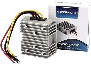 EPBOWPT 120W Voltage Regulator Buck Converter 48V step-down to 12V 10A Waterproof Voltage Reducer for Golf Cart Power Module LED Strip light