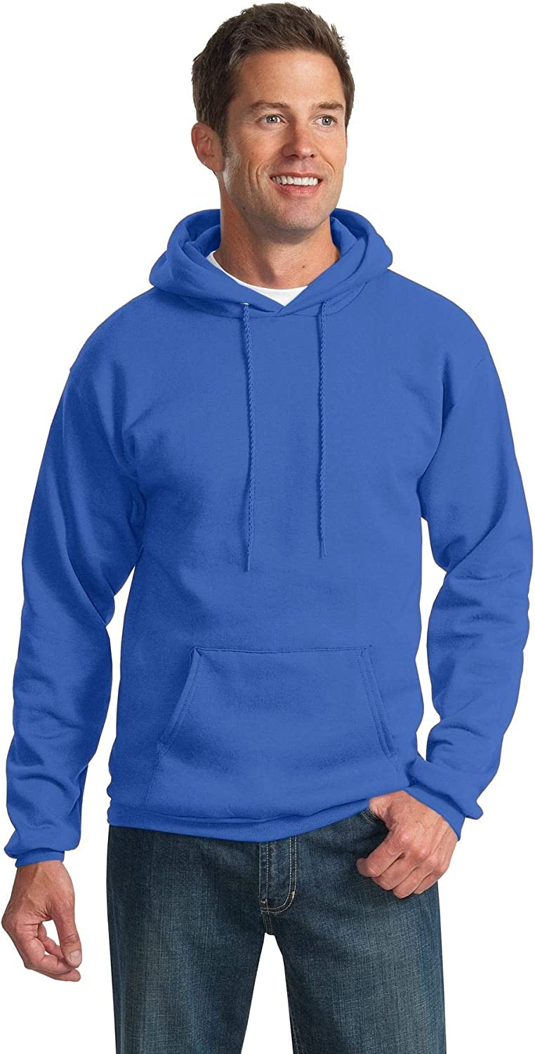 Port & Company Mens Tall Ultimate Pullover Hooded Sweatshirt (PC90HT)