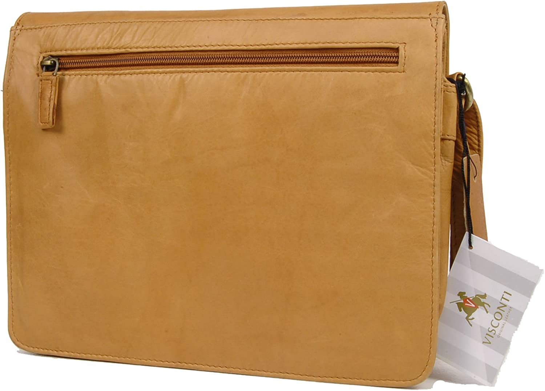 Organiser Bag- Atlantic Leather- Cross Body//Shoulder//iPad//Kindle//Work//Leisure Bag 754 TESS VISCONTI