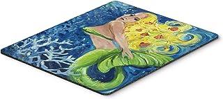 Caroline's Treasures Blonde Mermaid Mouse Pad/Hot Pad/Trivet (JMK1179MP)