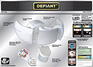 Defiant DFI-5886-WH 270 White Motion Activated Outdoor Integrated LED Light
