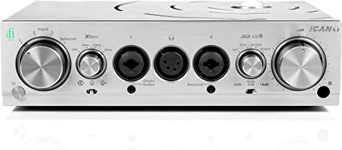 iFi Pro iCAN Studio Grade Fully Balanced Headphone Amplifier/Line Level Pre Amplifier/Linestage with Selectable Tube and Solid State - Home/Professional Audio Upgrade
