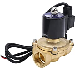 Messing magneetventiel, voor water lucht gas stookolie, luchtbevochtiger ventiel, huisdecoratie tool(DC24V)
