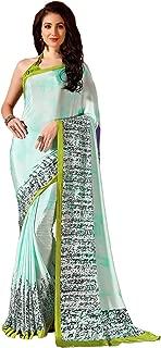 Jaanvi fashion Womens Crepe Silk Printed Saree (celebration-7705-b)