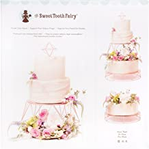 American Crafts 341986 19 Piece Tiered Rose Gold Stand Sweet Tooth Fairy Cake Decorating