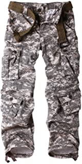 0ac999f81df4 AKARMY Must Way Men's Cotton Casual Military Army Cargo Camo Combat Work  Pants with 8 Pocket