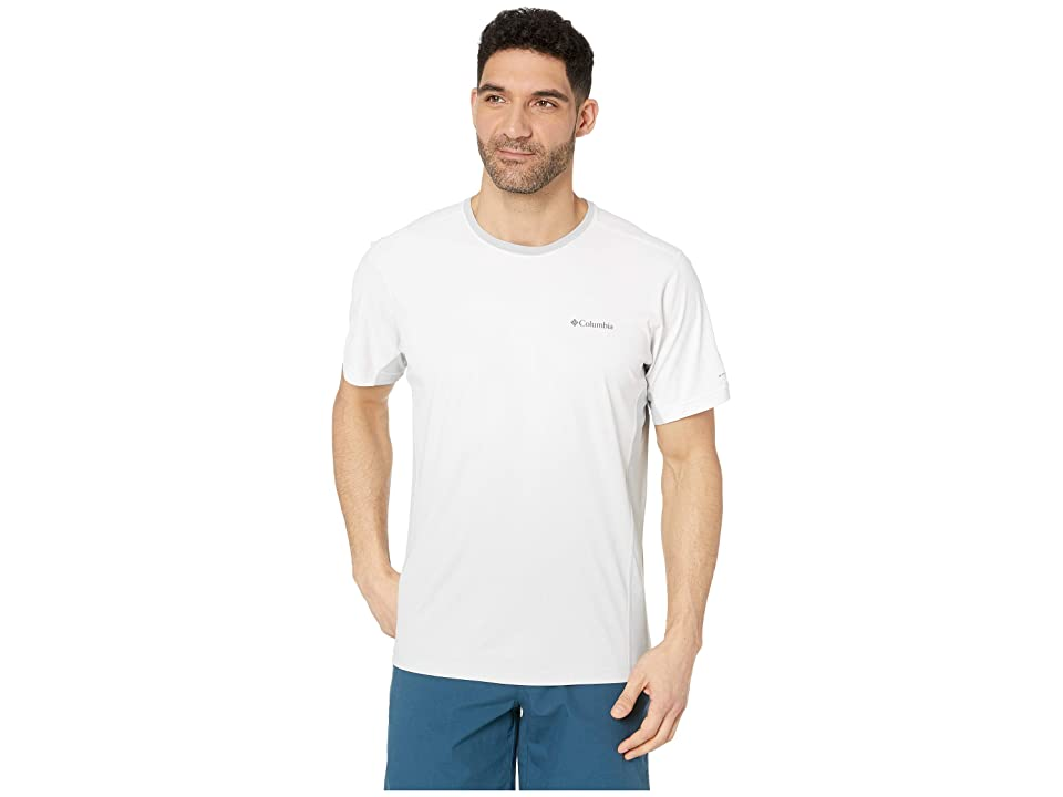 Columbia Solar Chilltm 2.0 Short Sleeve Shirt (Cool Grey) Men