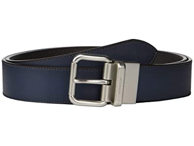 COACH Jeans Reversible Belt (Blue) Men