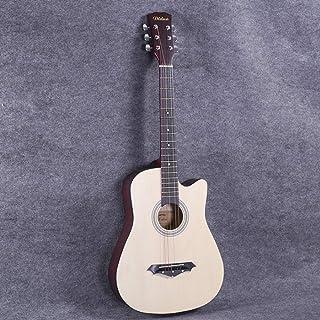 "Boll-ATur Beginner Acoustic Guitar Full Size, 38"" Cutaway Guitar Bundle With Gig Bag,Tuner, Capo, Picks, Strap String, Woo..."