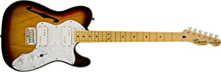 Squier by Fender Vintage Modified '72 Thinline Telecaster Electric Guitar - Natural - Maple Fingerboard