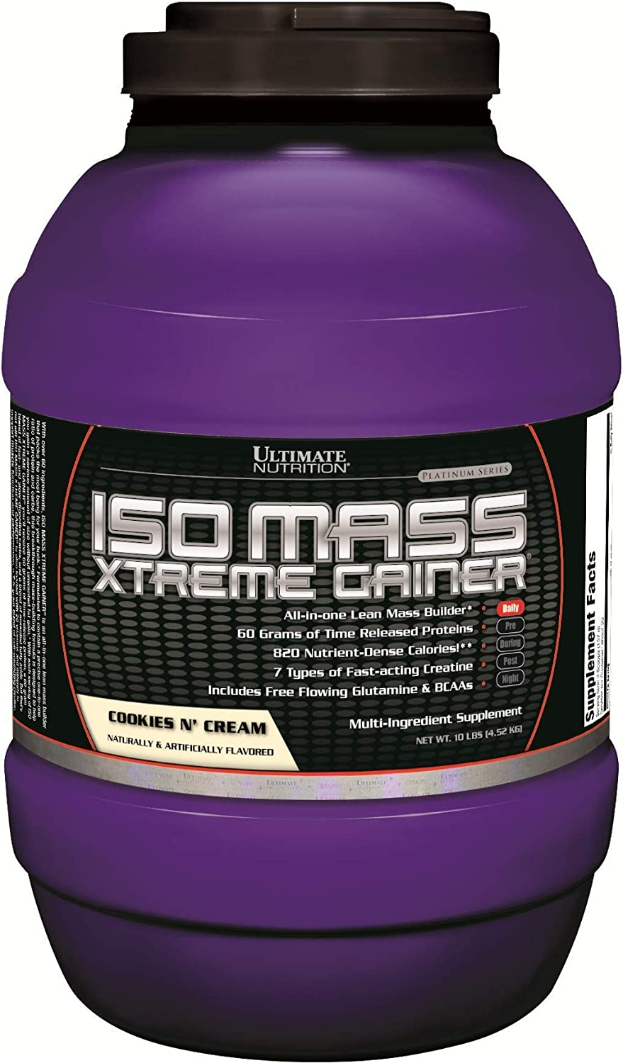 Ultimate Nutrition ISO Mass Xtreme Isolate OFFicial shop Gifts Gainer Weight Protein