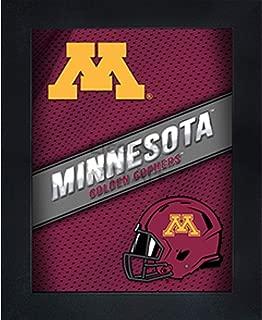 Minnesota Golden Gophers 3D Poster Wall Art Decor Framed Print | 14.5x18.5 | U of M Lenticular Posters & Pictures | Gifts for Guys & Girls College Dorm Room | NCAA Team Fan Ski U Mah Logo & Mascot