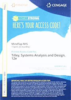 MindTap for Tilley's Systems Analysis and Design, 1 term Printed Access Card (MindTap Course List)